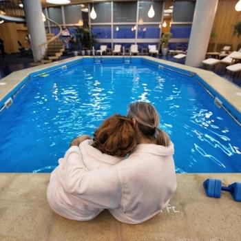 Confort la piscina